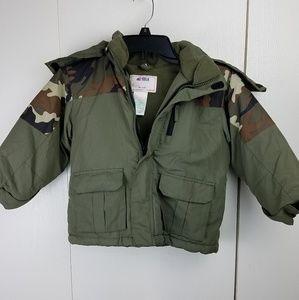 Okie dokie boys camo jacket size 4t
